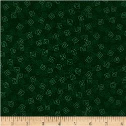 QT Harmony - Flannel Forest Green Squares