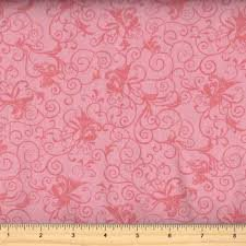 Benartex Glorious Hummingbirds Pink Swirl 2 by Jackie Robinson