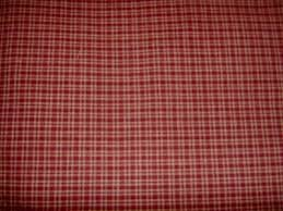 Choice Fabrics Homespun Burgandy Plaid