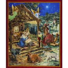 Quilting Treasures O'Holy Night 23301 Panel