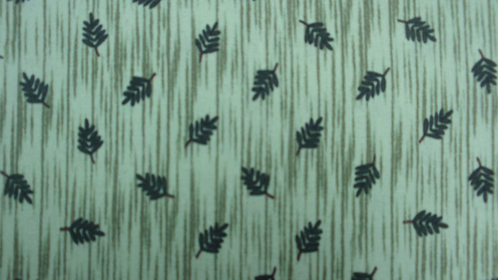 South Sea Imports Debbie Mumm Green Leaves 25513