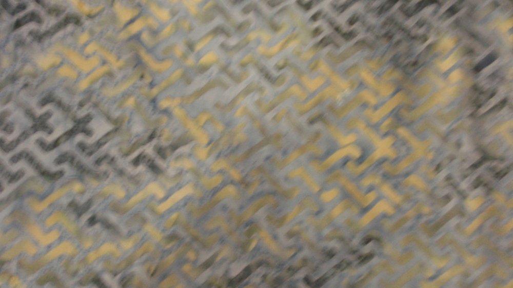 Hoffman Fabrics L2564 Slate Cream Gray Batik
