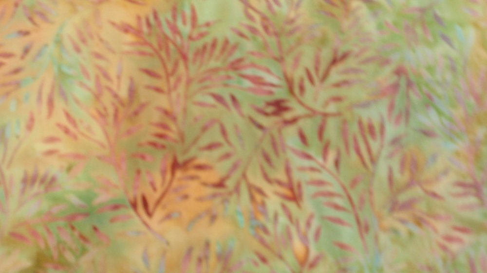 Hoffman Fabrics J2347 Batik Green Gold Purple