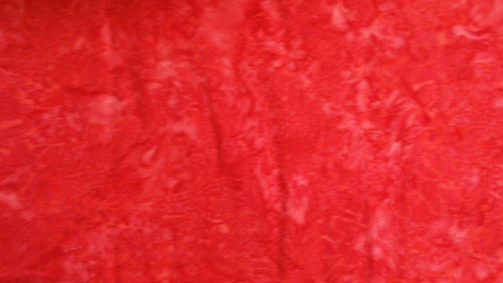 Benartex Red Batik