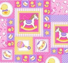 Fabri-quilt Baby Talk Rocking Horse Block