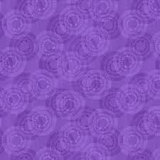 Wilmington Prints Circle Burst Wide Back Purple