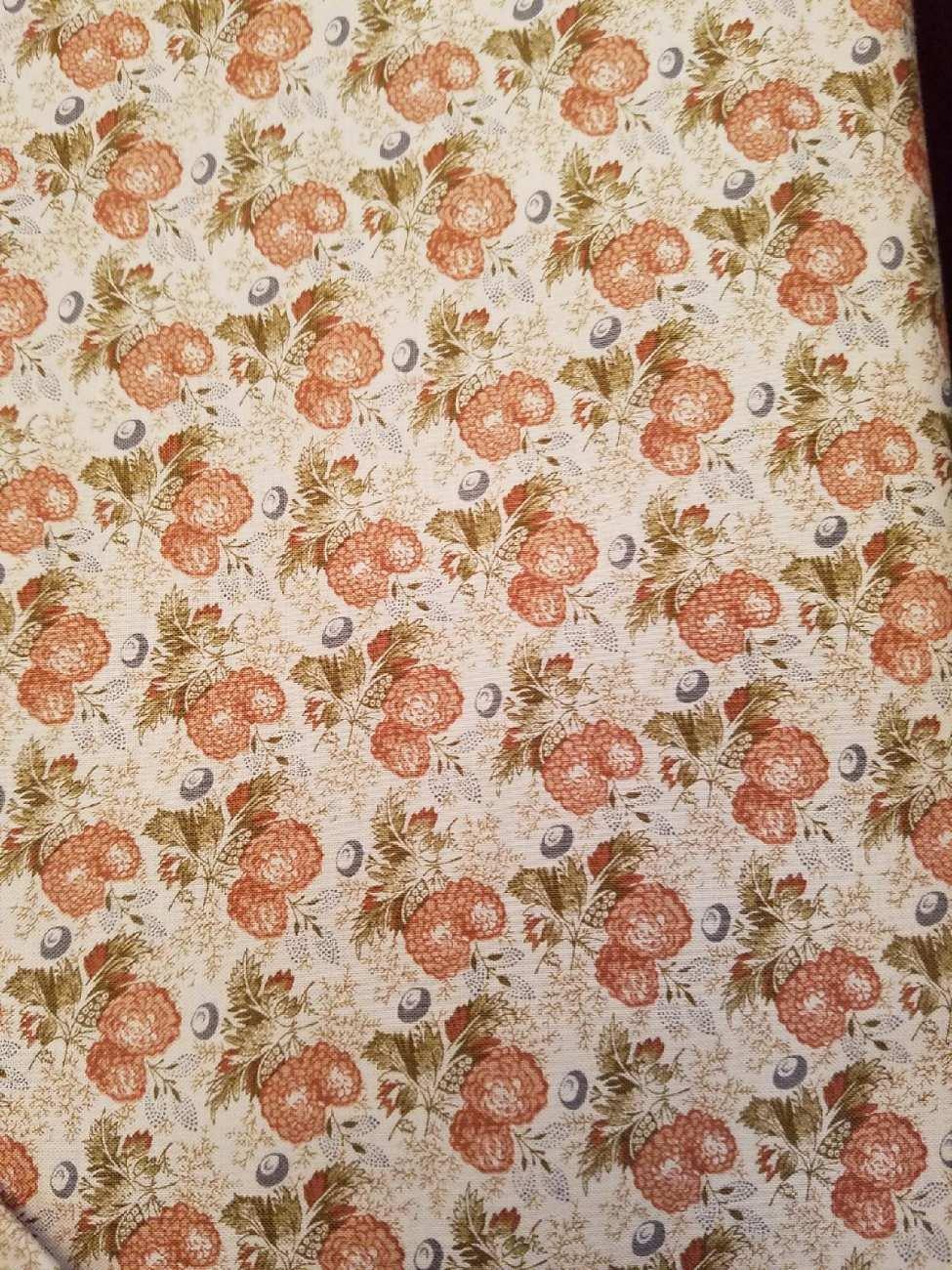 Andover Fabrics Jo Morton Toast II Berries