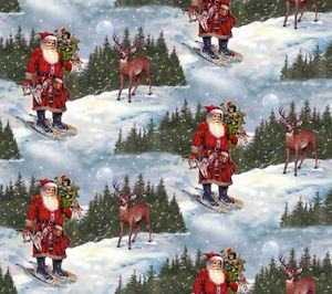 Spx Fabrics A Day In The Life Of Santa