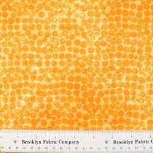 P&B Bella Suede 2 Small Orange Circles