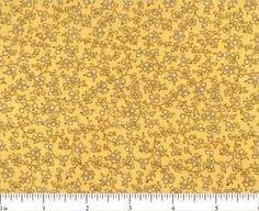 Choice Fabrics Treasures From The Attic Yellow