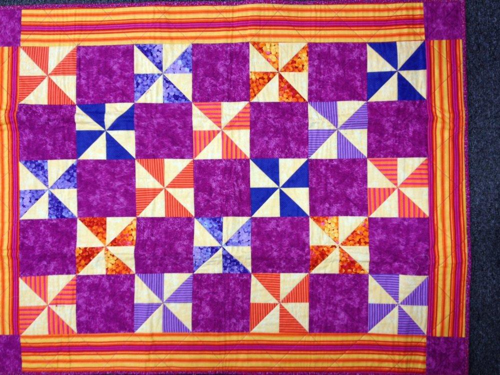 Class Kit For Beginning Quiltmaking 103-Pinwheels
