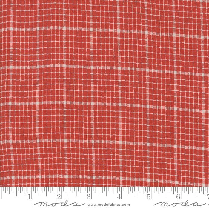 Snowberry Wovens 12024 13 Red Plaid