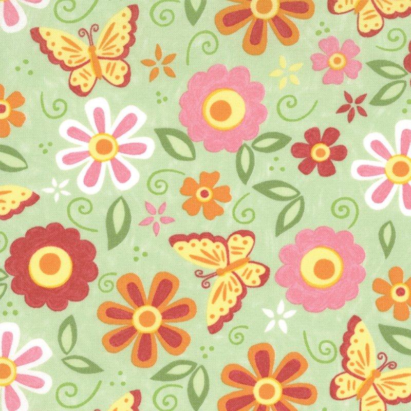 Love U Green Floral 19363 13