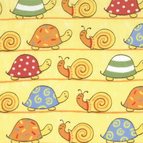Love U Yellow  Snails and Turtles