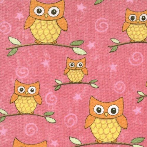 Love U Pink Owls  19365 17