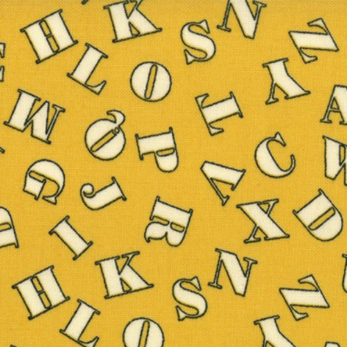 ABC 123 Yellow Letters