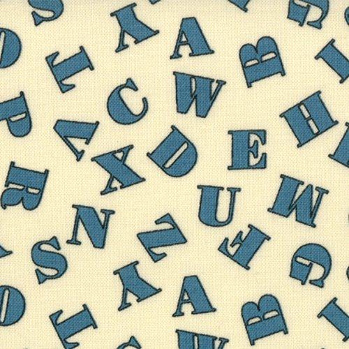 ABC 123 Blue  Letters