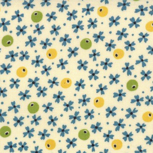 ABC 123 Floral Tiny Print