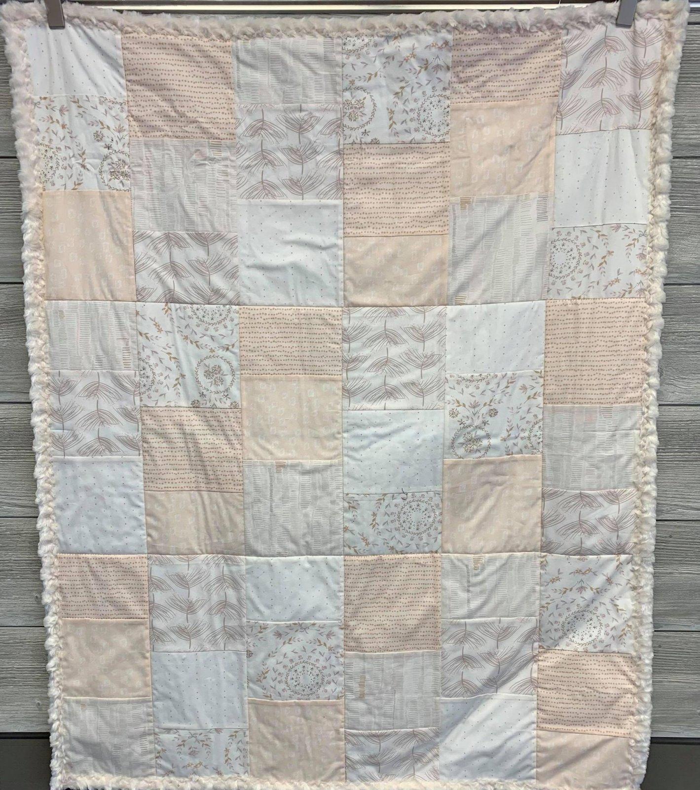 Ballerina/Eureka Baby Quilt Kit 36 x 45