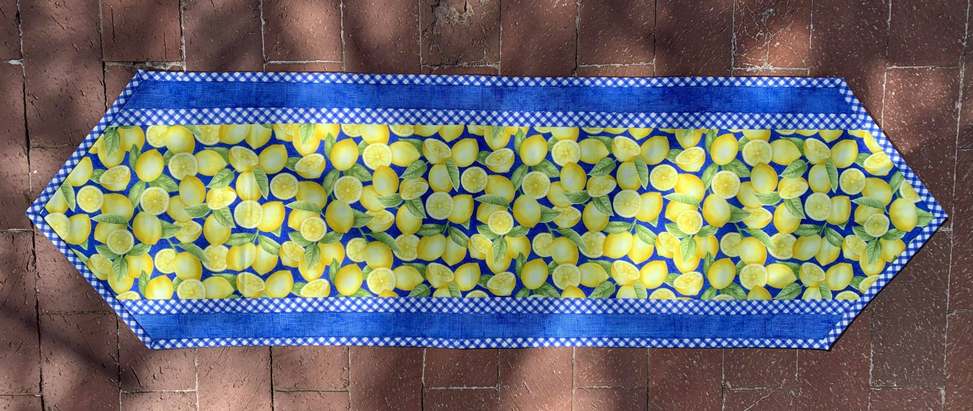 Just Lemons/Big Easy Table Runner  12 1/2 x 40