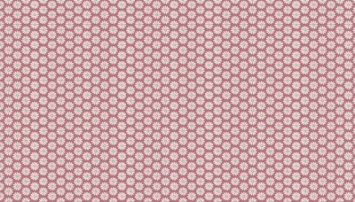 Antique Garden Pink With Flowers TP1742-P