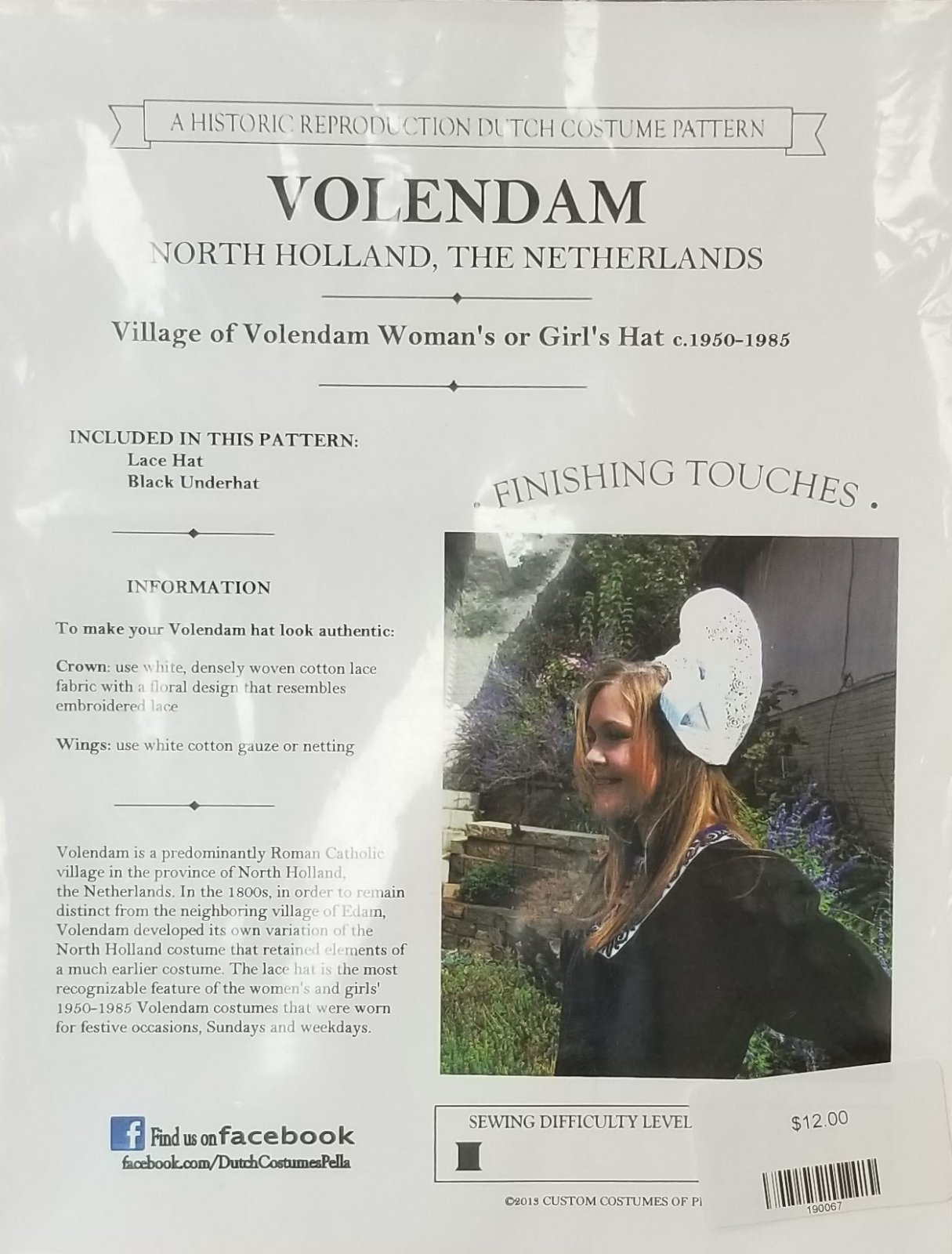 Volendam Hat