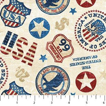 American Vintage- USA Cream