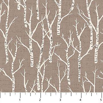 Woodland Pitter Patter-Birch Tree