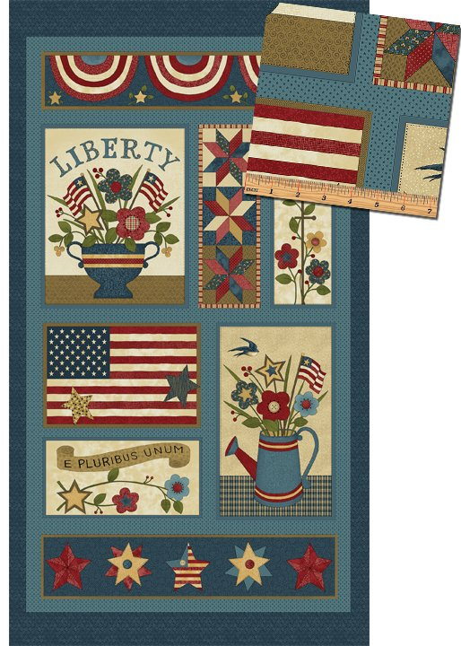 Liberty Hill 2/3 yd. Panel