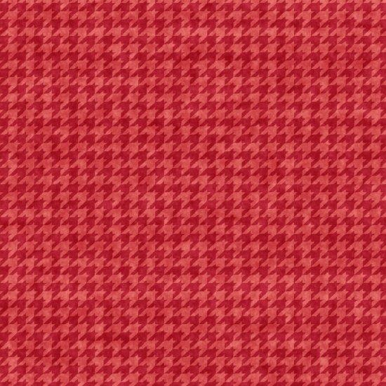 Houndstooth Basics Light Red