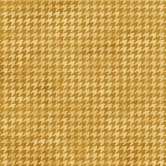 Houndstooth Basics Gold