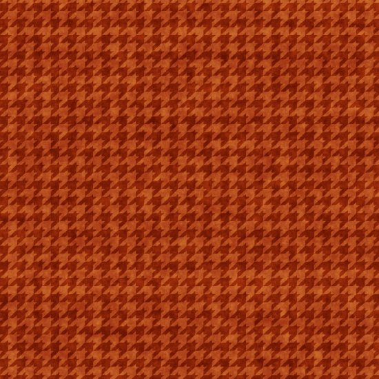 Houndstooth Basics Orange