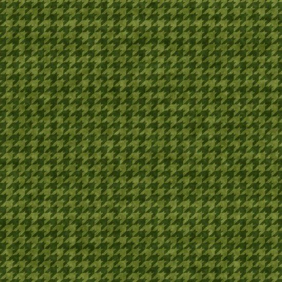 Houndstooth Basics Green