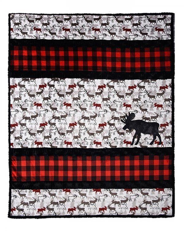 A'Moose'd Cuddle Kit 58 x 68