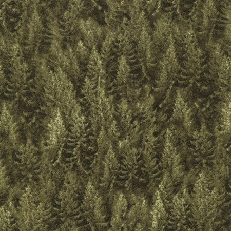 Cabin Green Flannel