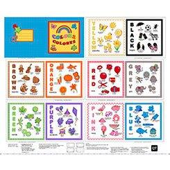 Sew & Go Color Book Sample