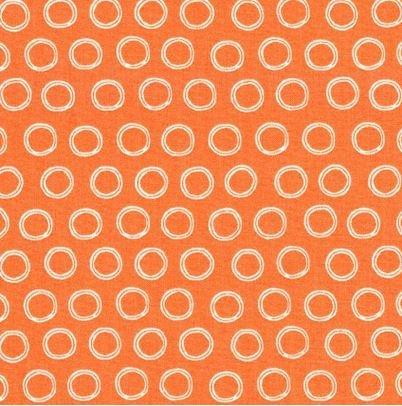 Doodle Dots- Orange