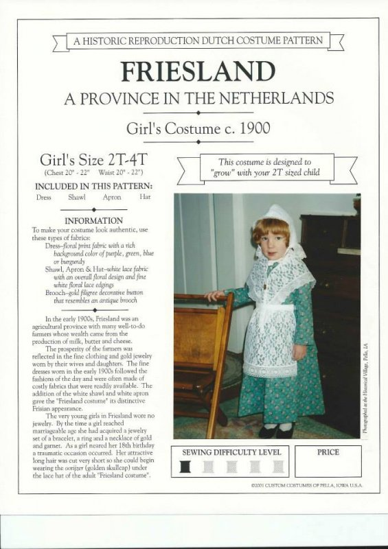 Friesland Girls 2T-4T