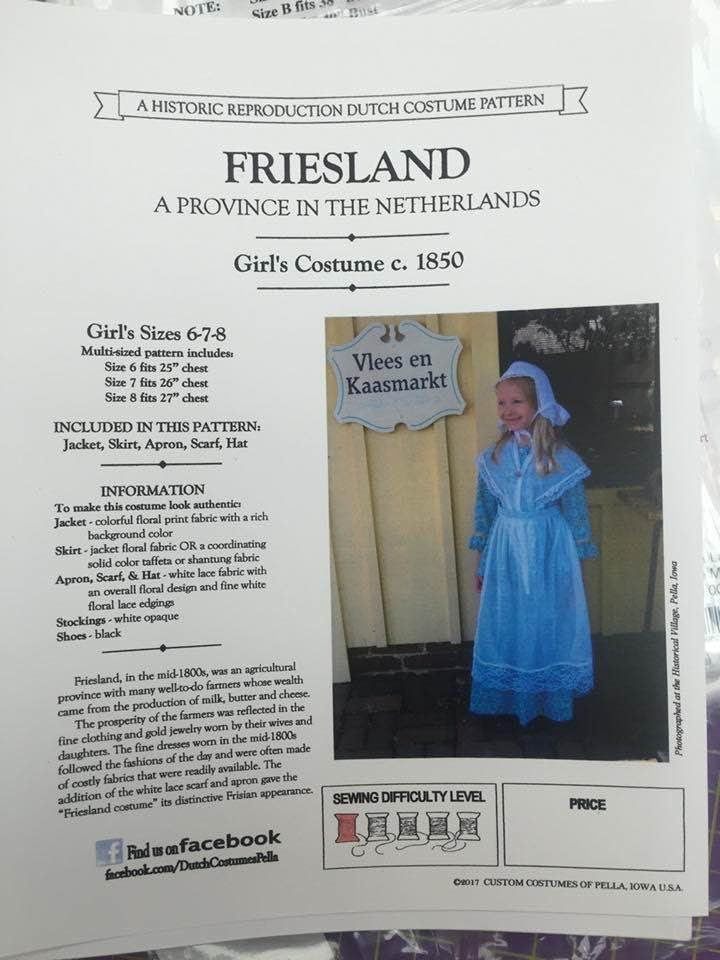 Friesland Girls Sizes 6-7-8
