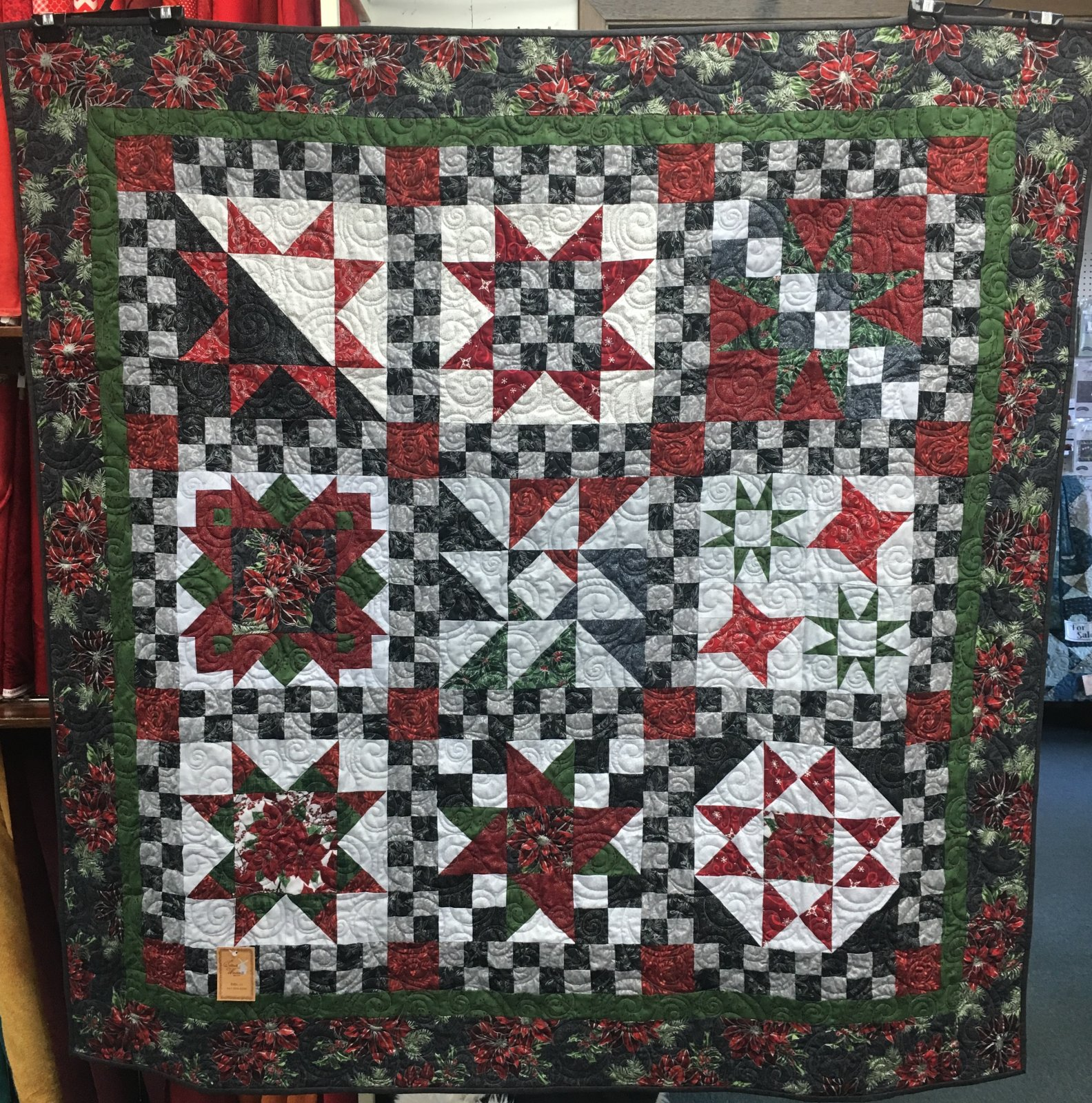 Shop Hop Christmas Sample - 57 Square