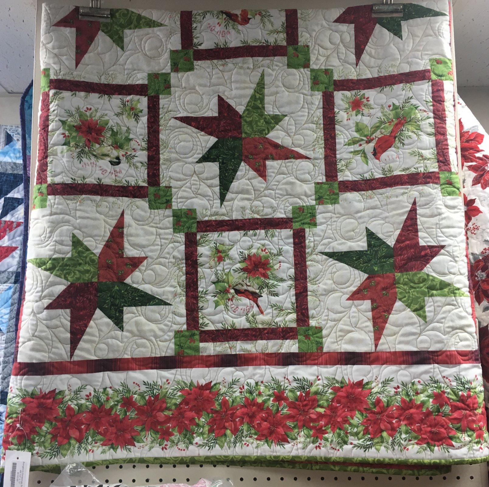 Soongbird Christmas Sample  -  49 1/2 x 72
