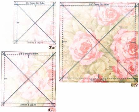 Three Fussy Cut Rulers Set