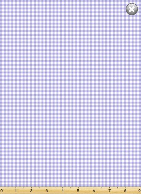 Gingham Check- Lavender