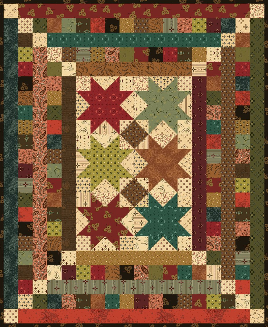 Kim Diehl's Simple Whatnot Kit - Hickory Dickory  18.5 x 22.5