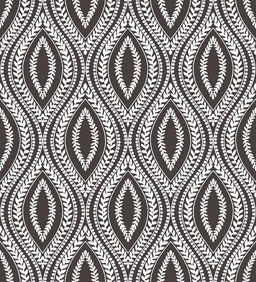 Hideaway-Charcoal Carino Geometric