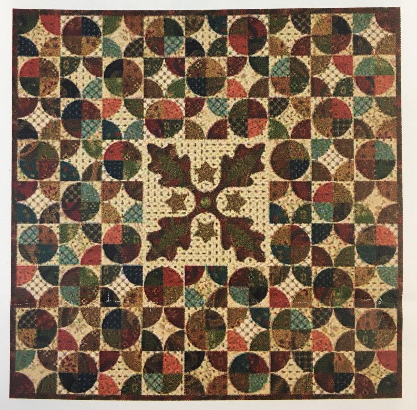 Autumn Tapestry- Kim Diehl Whatnots Kit - 18 1/2 x 18 1/2