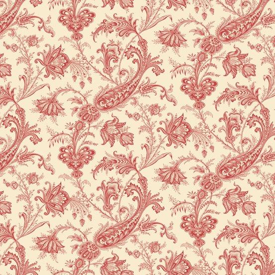 Carlisle Red Jacobean