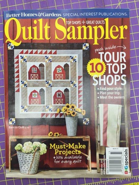 Quilt Sampler - Fall/ Winter 2017