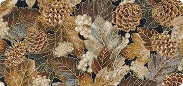 Autumn Beauties Metallic- Leaves/ Cones
