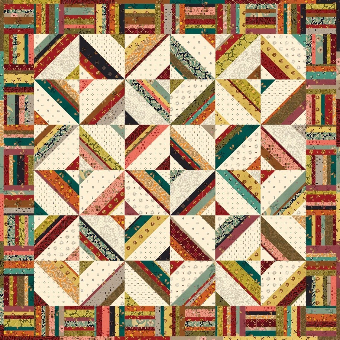 Traffic Jam - Kim Diehl's Simple Whatnots Kit 22.5 square